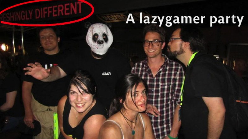 A lazygamer party