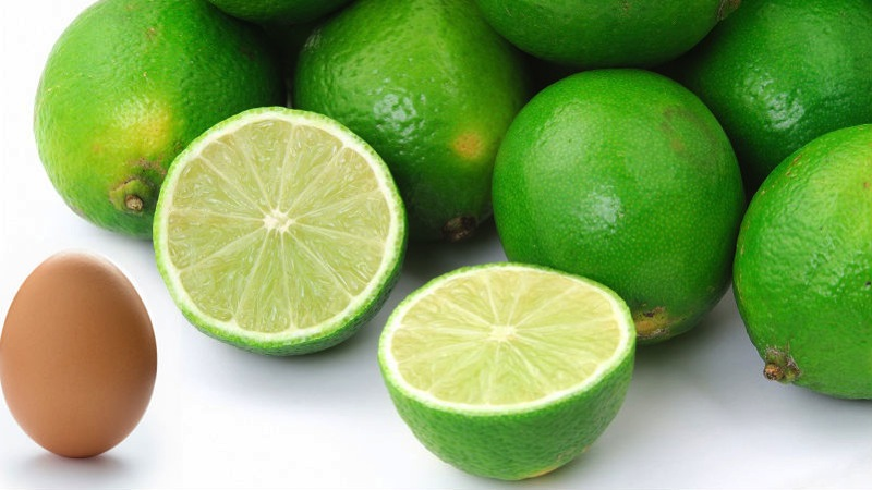 Eggs in hard limes