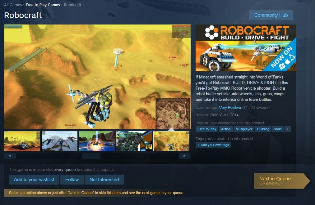 Steam gets a new update – it's blue and ready to take your