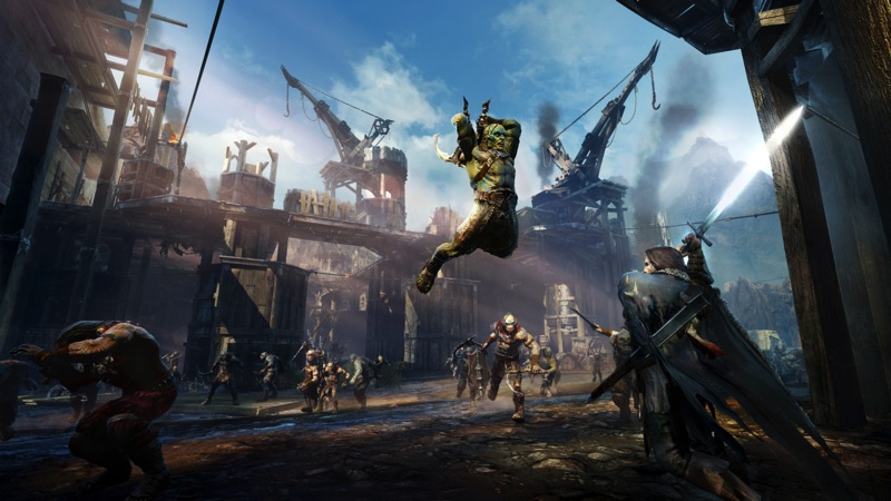 Shadow of mordor combat