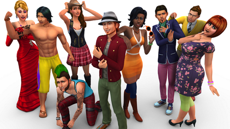 Sims 4 group