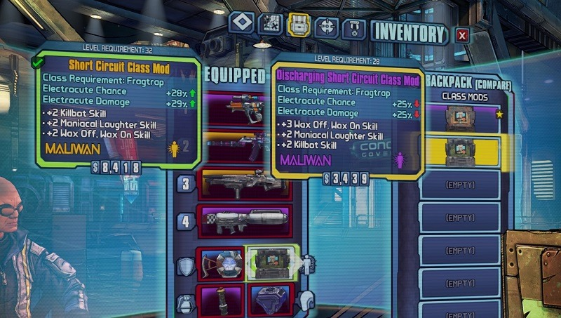 The legendary loot of Borderlands: The Pre-Sequel - Critical Hit