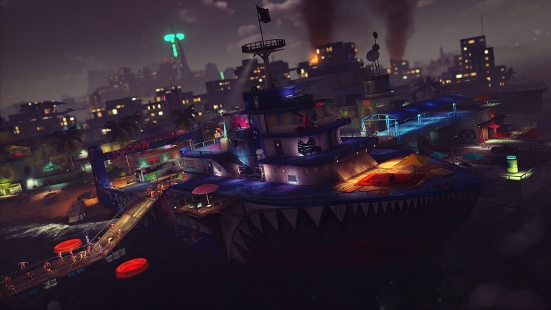sunset_overdrive_review_boat_fort_chaos