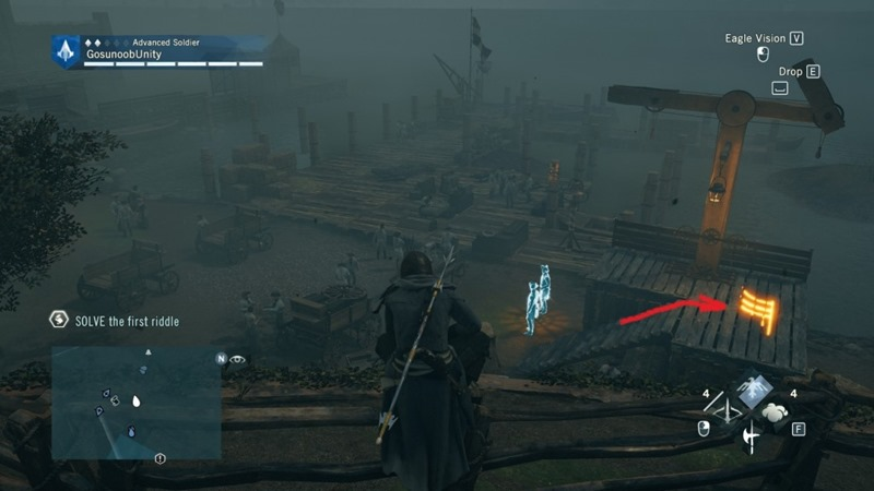 assassins creed unity map symbols