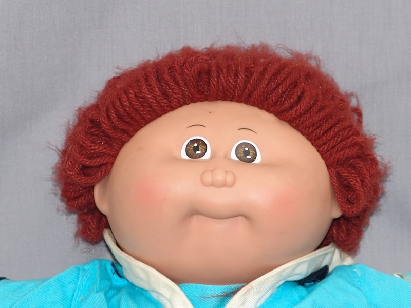 Cabbage patch doll... WHY ME... WHYYYYYYYYYYYYYYYY