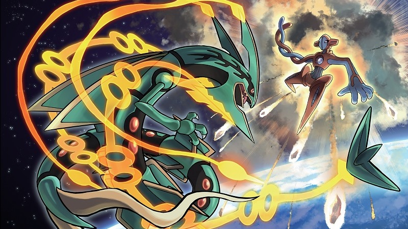 Deoxys vs Rayquaza
