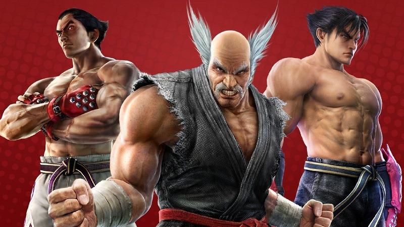 Heihachi got so old O_o I remember when he had black hair