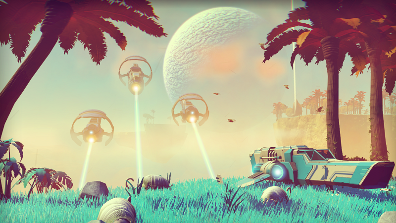 No Man's Sky is like Minecraft..and not at the same time