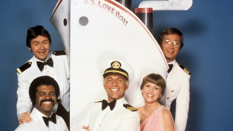 Love, exciting and new Come Aboard. We're expecting you.  And Love, life's sweetest reward. Let it flow, it floats back to you. Love Boat soon will be making another run, The Love Boat promises something for everyone...