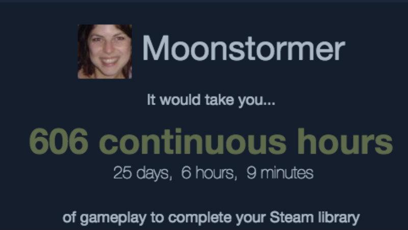 Steam backloog moonstormer