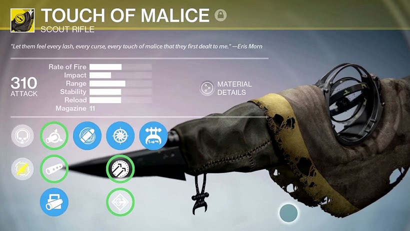 touch of malice