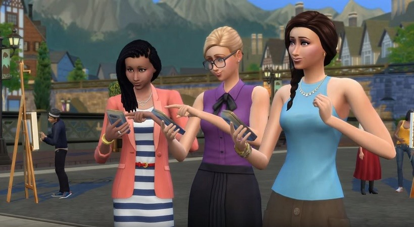 The Sims 4 Get Together 1