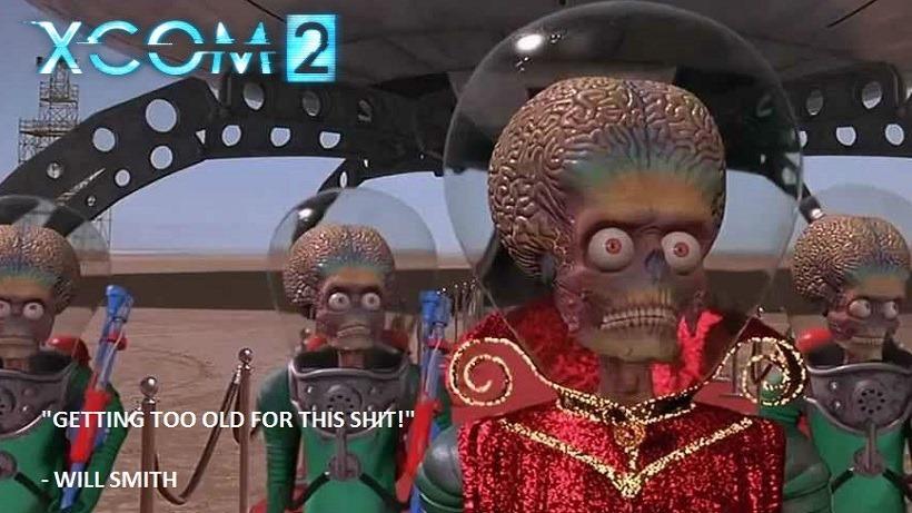 Mars Attacks ... er... XCOM 2