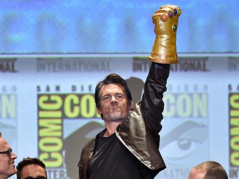 attends the Marvel Studios panel during Comic-Con International 2014 at San Diego Convention Center on July 26, 2014 in San Diego, California.