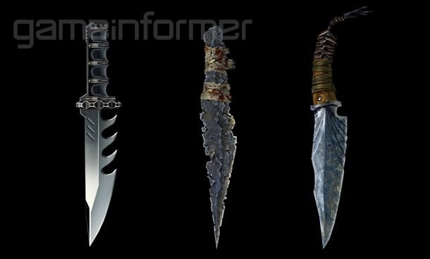 Gears of War 4 MP knives