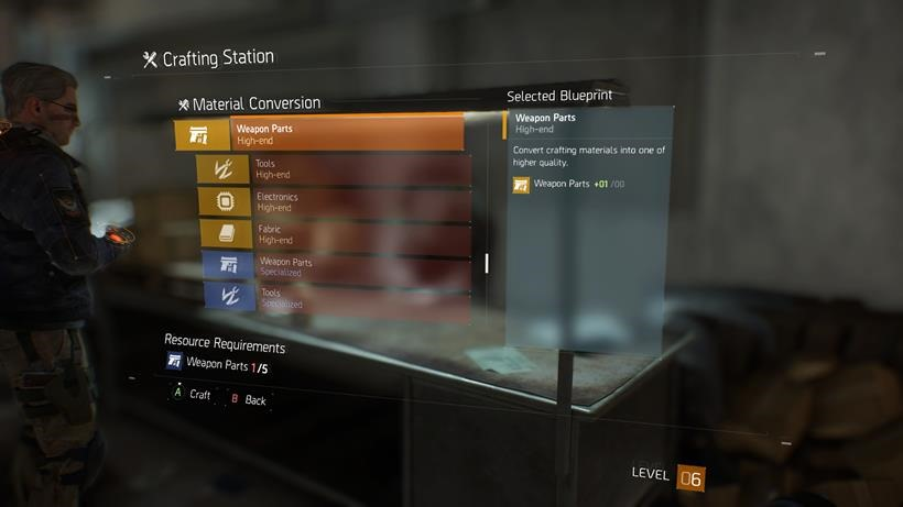 The Division Crafting (4)