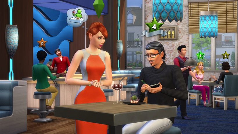 Sims 4 dine out 3
