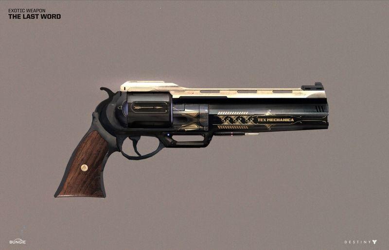 Destiny weapons (4)