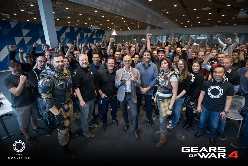 Gears of War 4 goes gold