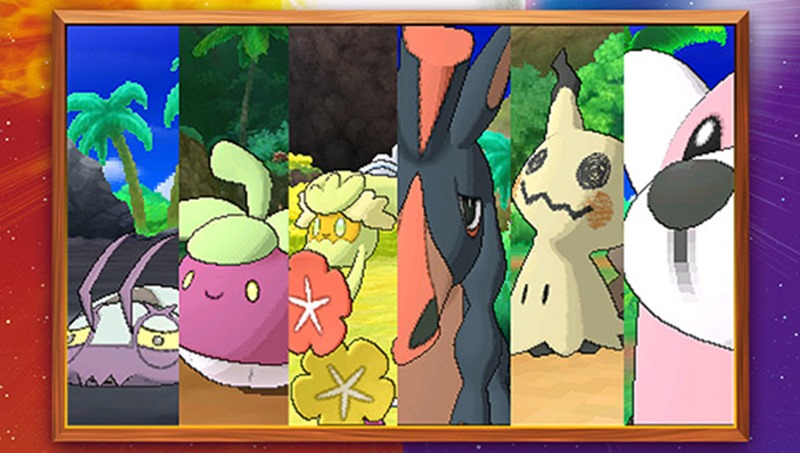 Pokemon Sun and Moon (1)