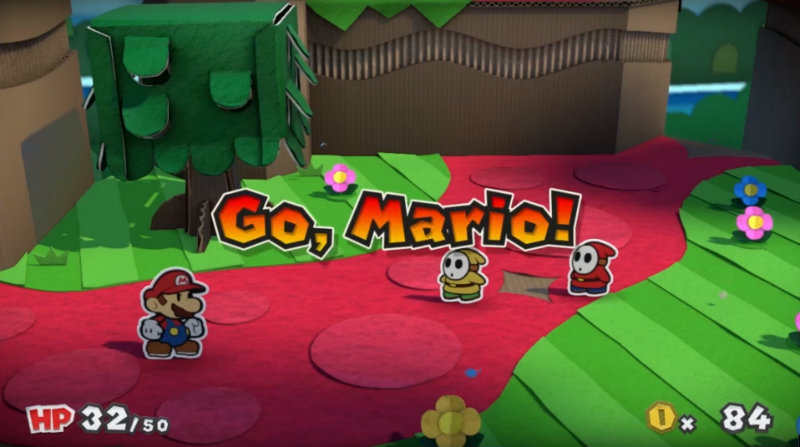 Super Paper Mario Color Splash 1