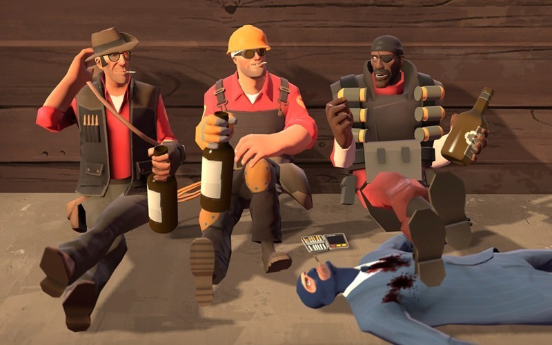 Team Fortress 2 header
