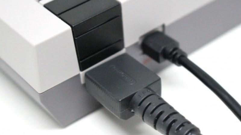 NES mini plugs
