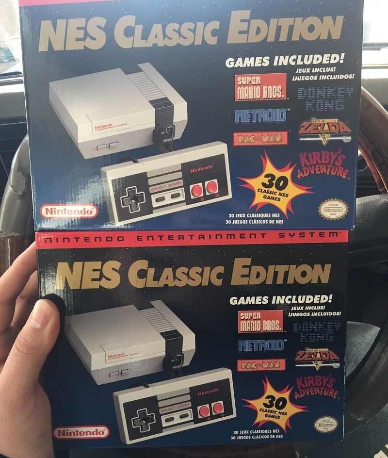 People Are Scalping The Nintendo Classic Mini Nes Online Because Of