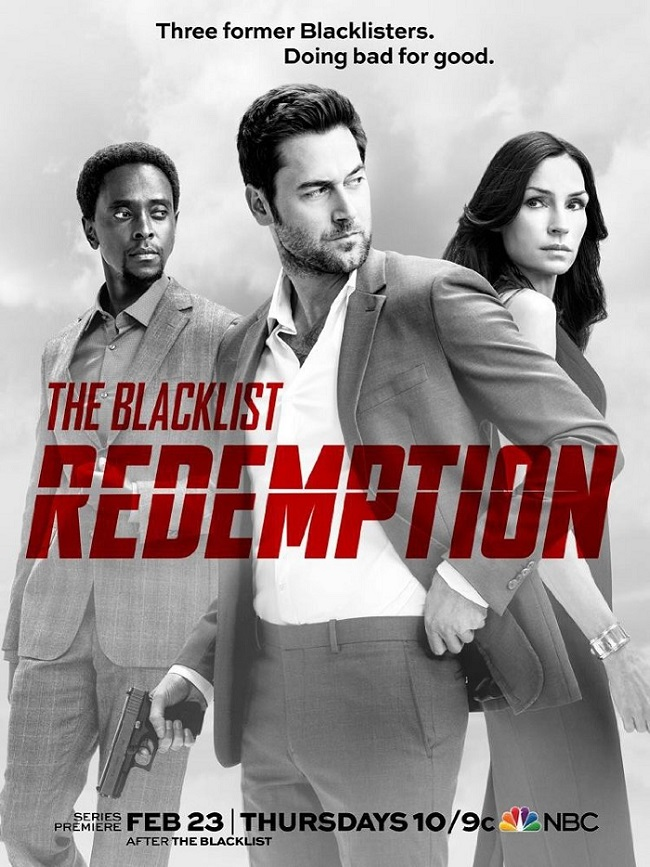 They want to make amends in the trailer for The Blacklist spin-off series The Blacklist: Redemption 4