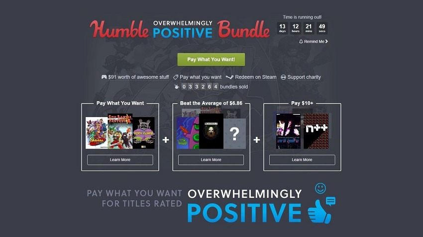 Humble Bundle Pinterest: The Latest Humble Bundle Is Overwhelmingly Positive