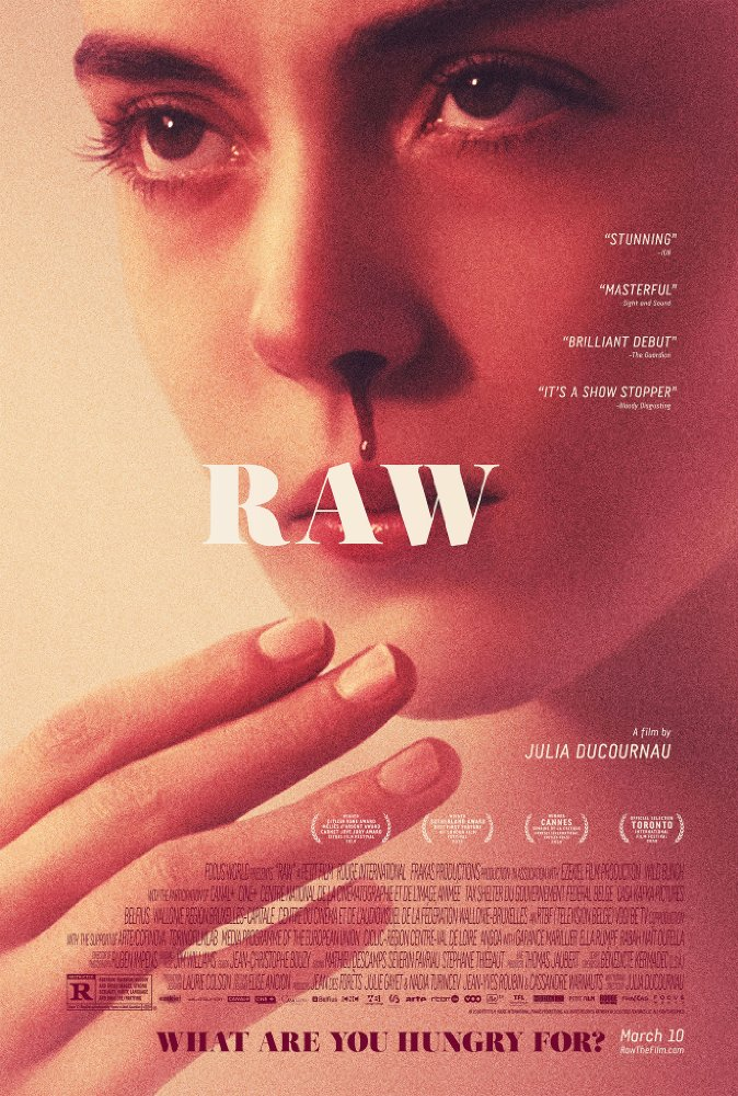 Take a bite out of these trailers for the psychological horror RAW 4