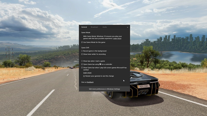 Windows 10 Game Mode detailed further 2