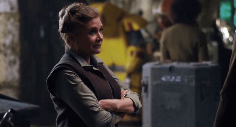 You won't be seeing a CGI Carrie Fisher in future Star Wars films 3