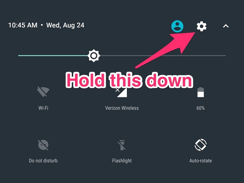 Android has a secret menu that allows you to further fine tune your device 9