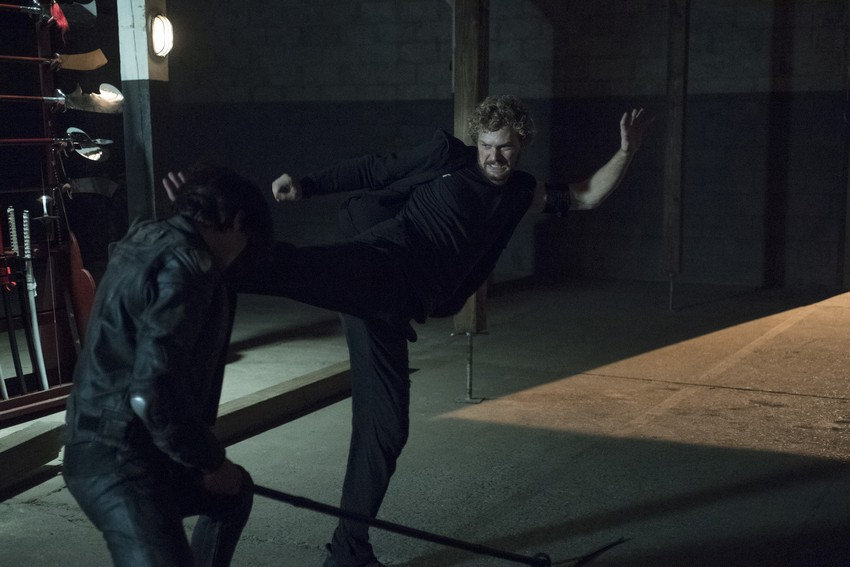 Iron Fist's Finn Jones learned the show's fight choreography just 15 minutes before a scene 3
