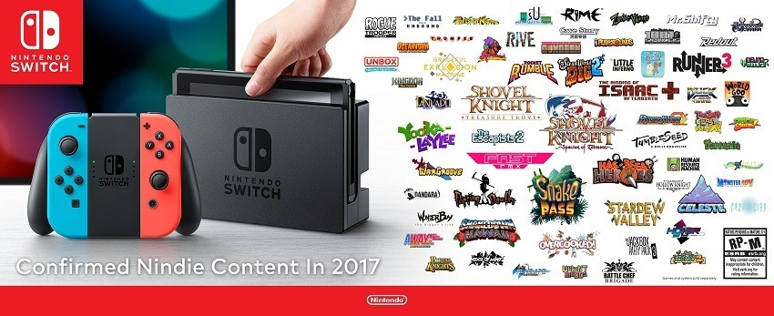 Nintendo Switch gets a ton of inde support 2