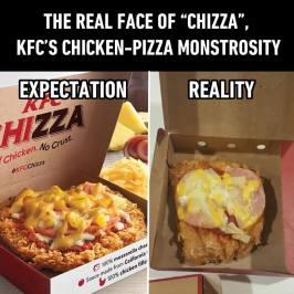 chizza expectation reality