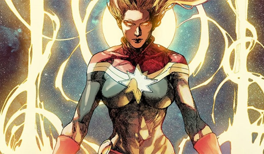 First look at Brie Larson in costume as Captain Marvel 4