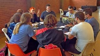 Pathfinder RPG session.