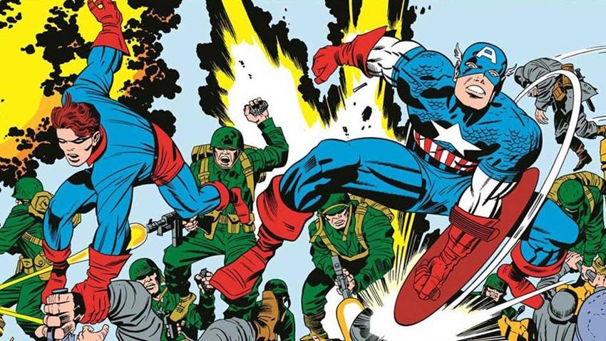 Kirby Captain America