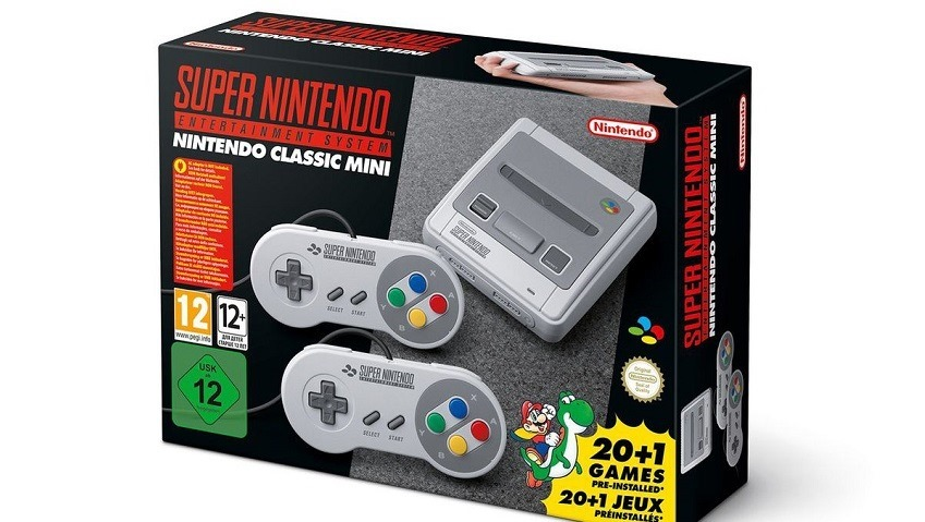 The SNES Mini Classic launches locally on September 29, priced at R1249 2