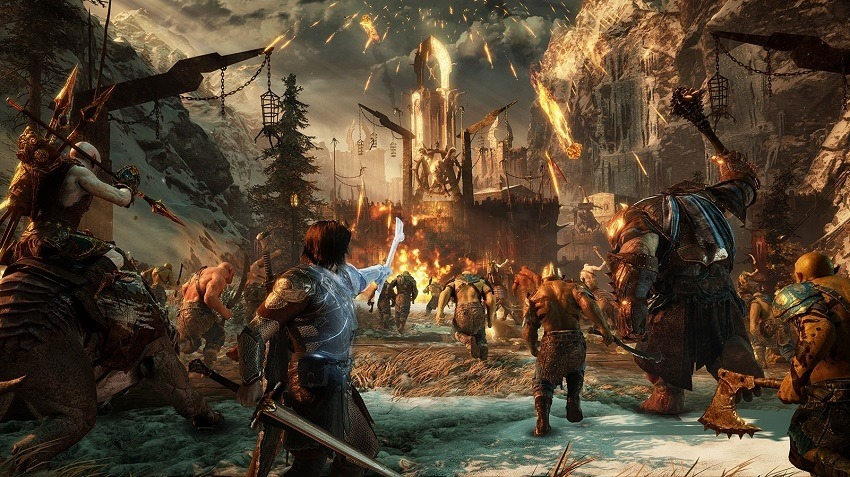 Gamescom 2017 - Shadow of War promises epic battles and a dynamic open-world 6