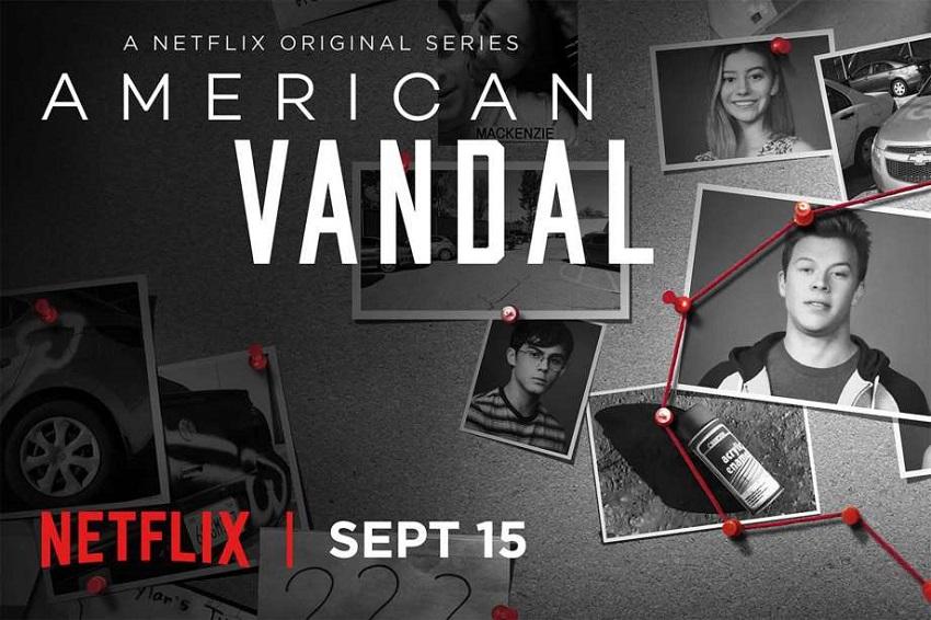 Netflix's true crime mockumentary American Vandal exposes the shocking truth behind a rash of phallic graffiti 2