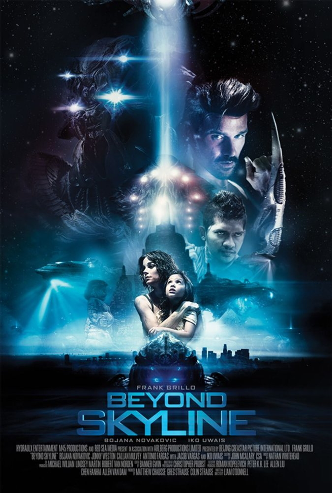 Frank Grillo and Iko Uwais are fighting against an alien invasion in this trailer for Beyond Skyline 5