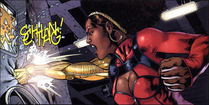 Spoiler Warning: First look at Misty Knight in Luke Cage season two 5