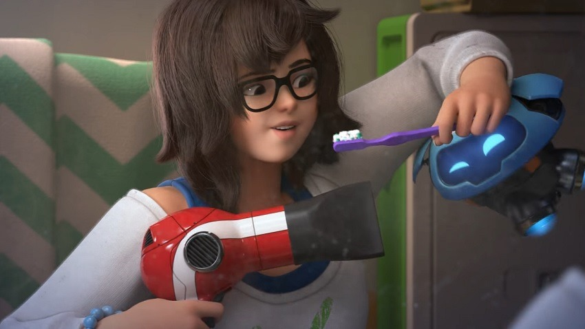 Overwatch has a new animated short for Mei