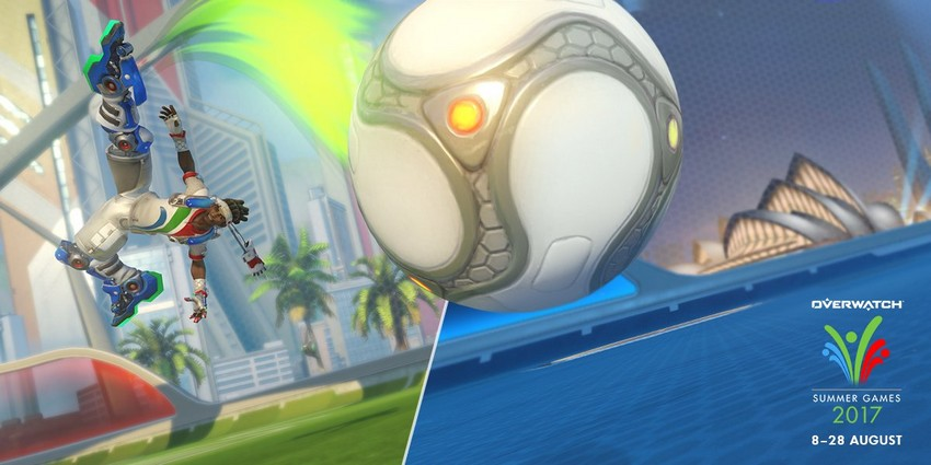 Overwatch Summer Games is back 8 August! New skins, classic skins, and competitive Lúcioball! 5