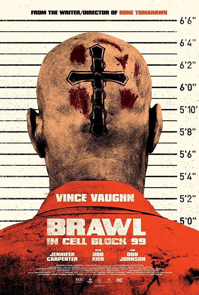 Vince Vaughn heads to prison in the crime thriller Brawl in Cell Block 99 4