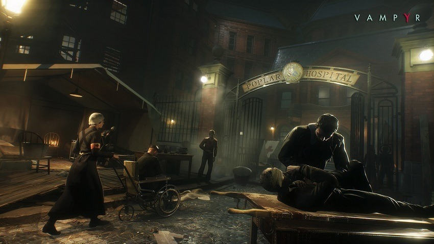 Vampyr delayed into 2018