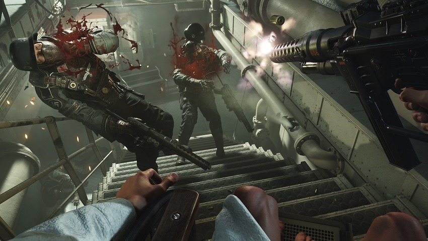 Wolfenstein II's new trailer is all about gory nazi kills